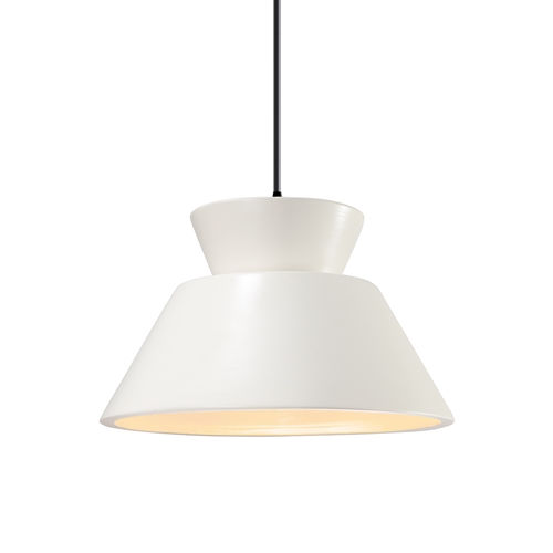 Radiance Gloss White and Matte Black LED Pendant