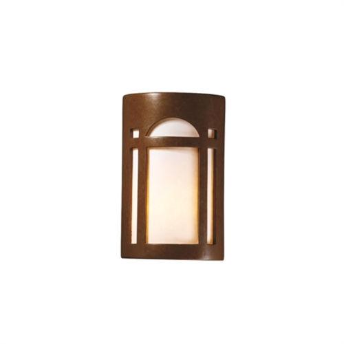 Ambiance Rust Patina LED Wall Sconce