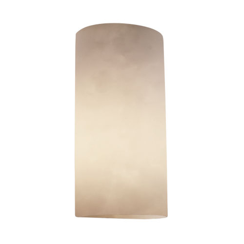 Clouds Beige Two-Light Wall Sconce
