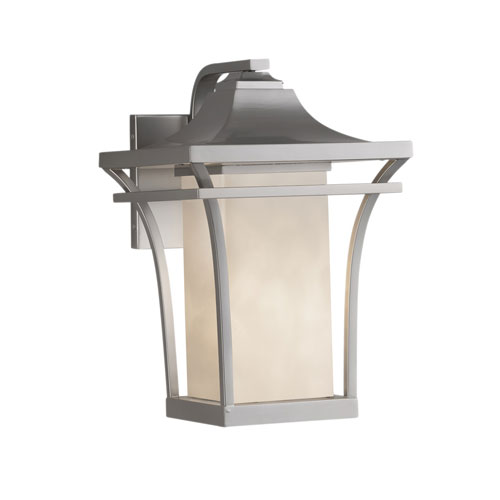 Clouds Summit Brushed Nickel LED Outdoor Wall Sconce