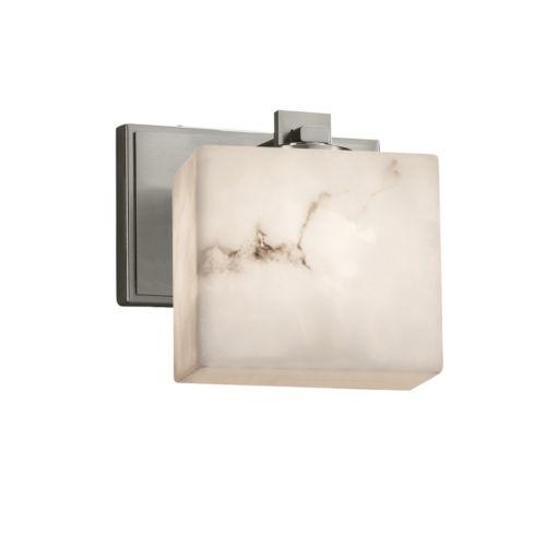 LumenAria Era Brushed Nickel One-Light Wall Sconce