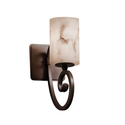 LumenAria Victoria Dark Bronze LED Wall Sconce