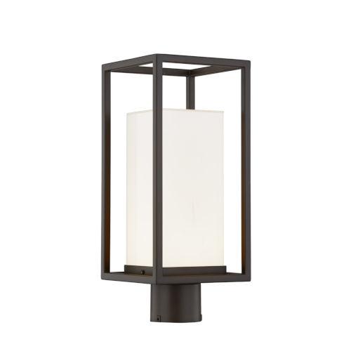 Fusion Dark Bronze LED Outdoor Post