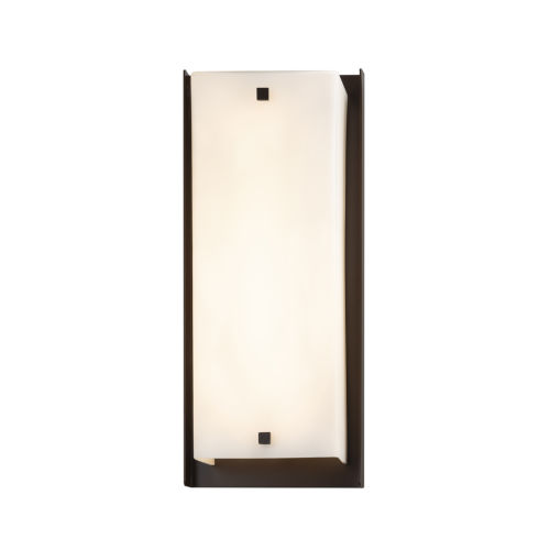 Fusion Dark Bronze LED Outdoor Wall Mount