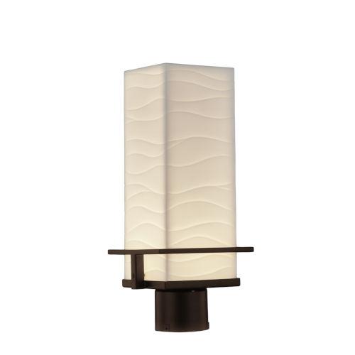 Porcelina Dark Bronze LED Outdoor Post