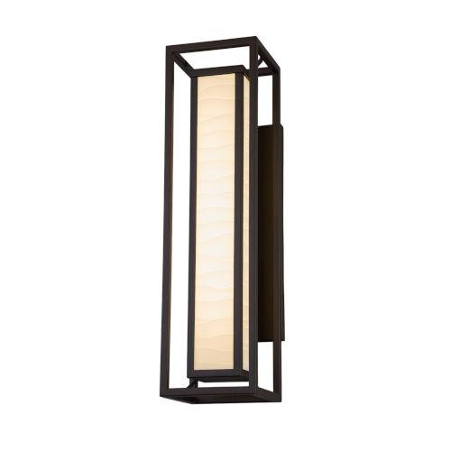 Porcelina Dark Bronze Two-Light LED Outdoor Wall Mount