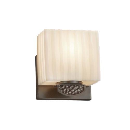 Porcelina - Malleo Polished Chrome Six-Inch One-Light ADA Wall Sconce