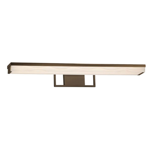 Porcelina - Elevate Dark Bronze 30-Inch LED Linear Bath Bar