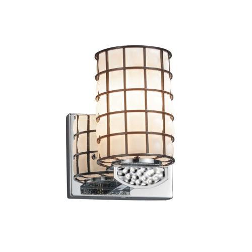 Wire Glass - Malleo Dark Bronze Six-Inch LED Wall Sconce