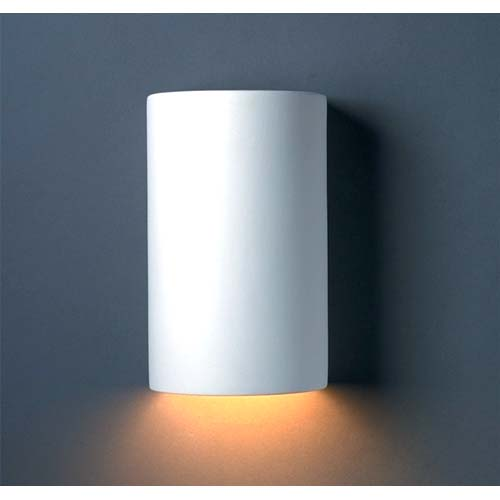 Justice Design Group Small Cylinder Wall Sconce