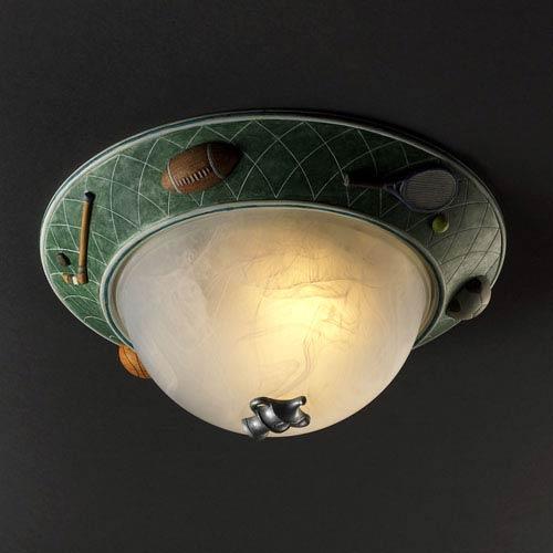 Justice Design Group Sports Flush Ceiling Light Kid 6194 Incn   Bellacor