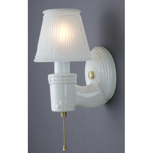 Vintage Round Wall Sconce