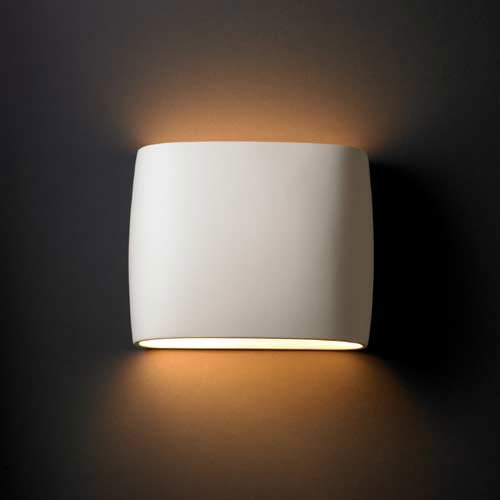 Justice Design Group Ambiance Bisque Wall Sconce