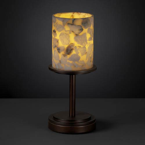 Alabster Rocks! Dakota One-Light Short Table Lamp