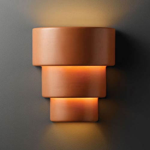 Ambiance Terra Cotta Large Terrace Outdoor Wall Sconce