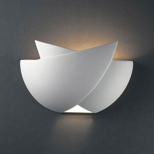 Justice Design Group Ambiance Bisque Fema Bathroom Wall Sconce