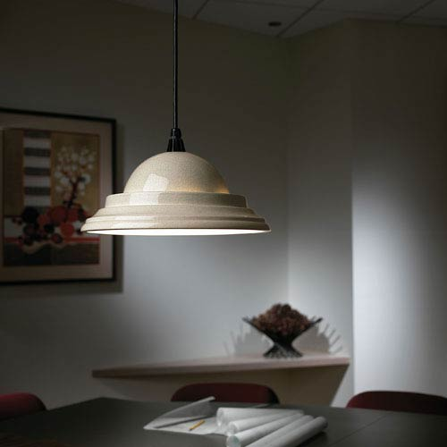 Justice Design Group Radiance White Le Clic Pendant