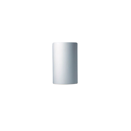 Ambiance Bisque 4.5-Inch LED Small Cylindrical Wall Sconce with Closed Top