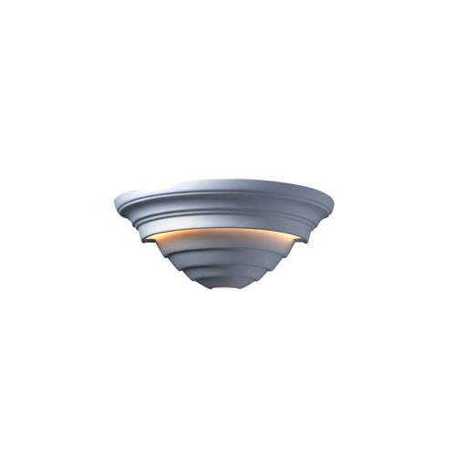 Justice Design Group Ambiance Bisque Two-Light Supreme Wall Sconce