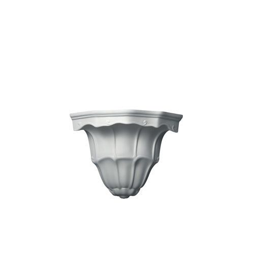 Justice Design Group Ambiance Bisque One Light Floine Corner Wall Sconce