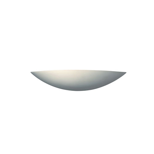 Ambiance Carrara Marble LED Small Sliver Wall Sconce