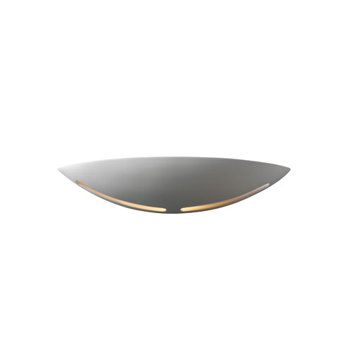 Ambiance Bisque LED Small Slice Wall Sconce