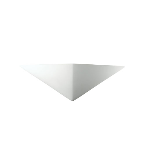 Ambiance Bisque LED Triangle Wall Sconce