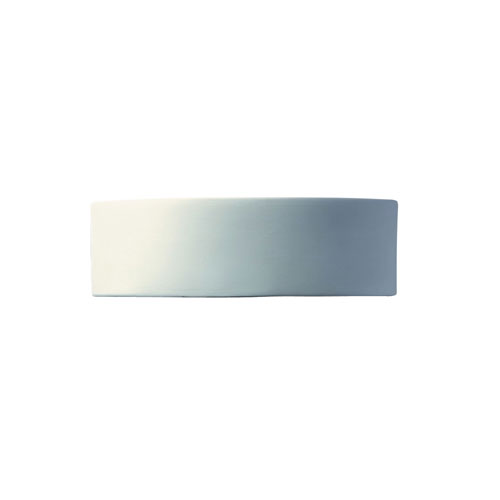 Ambiance Bisque LED Arc Wall Sconce with Opened Top and Bottom
