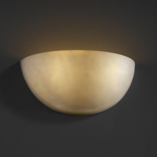 Clouds Small Quarter Sphere Sconce