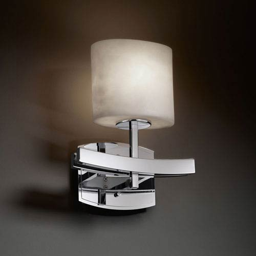 Clouds Archway Polished Chrome Wall Sconce