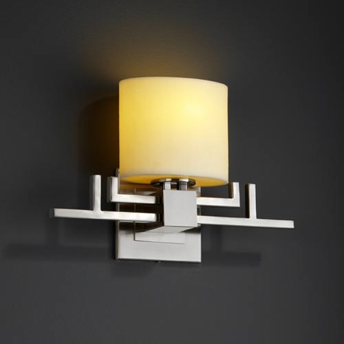 Justice Design Group CandleAria Aero One-Light Sconce