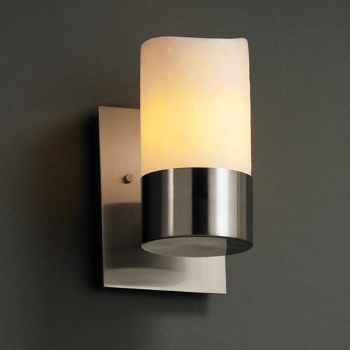 Justice Design Group CandleAria Dakota One-Uplight Sconce