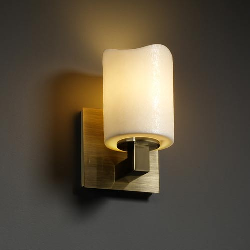 Justice Design Group CandleAria Modular One-Light Sconce