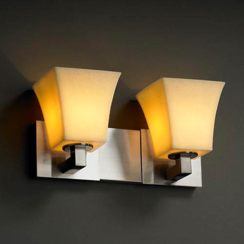 CandleAria Modular Two-Light Bath Fixture