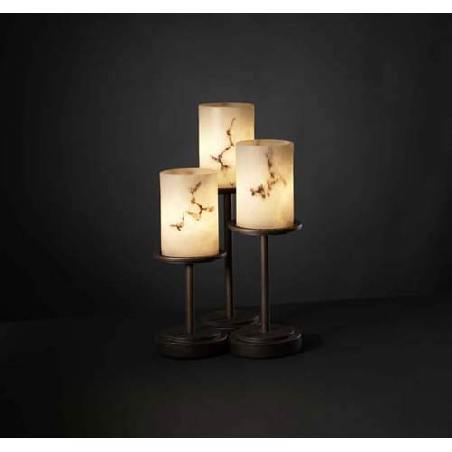 Dakota Dark Bronze Three-Light Accent Lamp