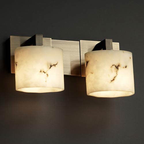 LumenAria Modular Two-Light Bath Fixture