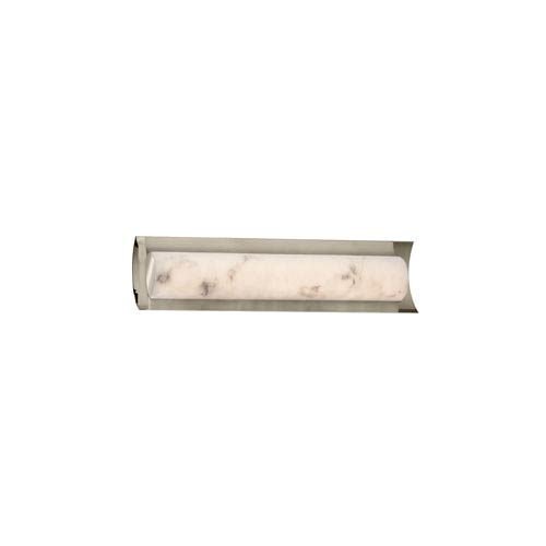 LumenAria Brushed Nickel 21.5-Inch LED Bath Bar