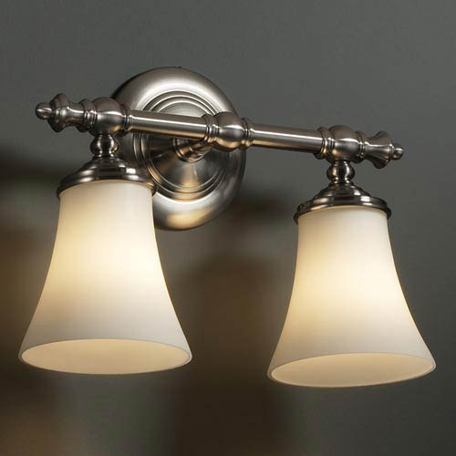 Fusion Tradition Two-Light Bath Fixture