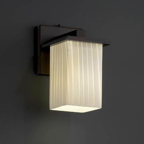 Justice Design Group Fusion Montana One-Light Sconce