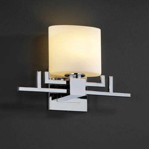Justice Design Group Fusion Aero One-Light Sconce