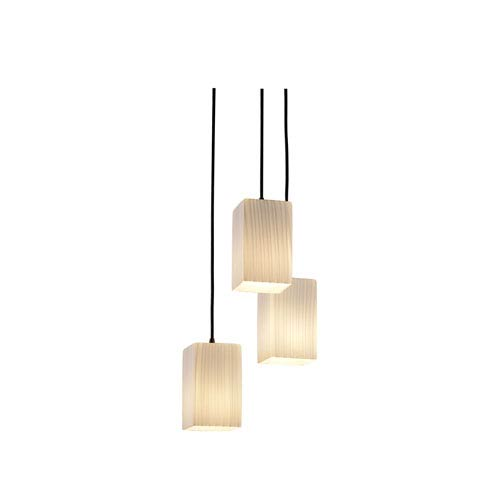 Fusion Modular Three-Light Dark Bronze Cluster Mini Pendant