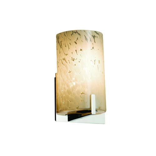 Fusion  Polished Chrome 5.5-Inch LED Wall Sconce