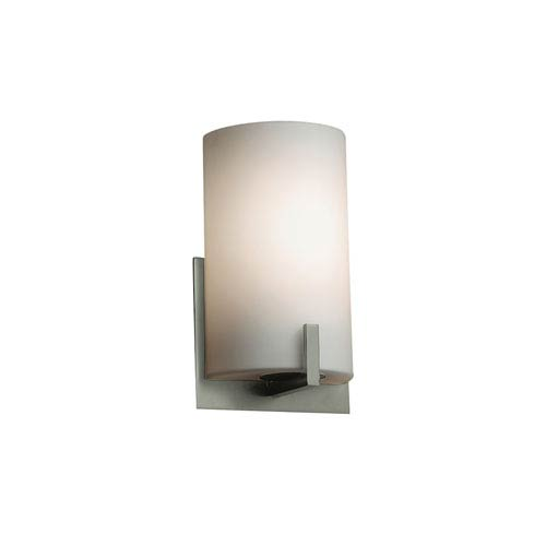 Wall sconces up to 50 off crystal brass modern more on sale fusion brushed nickel 5 inch one light wall sconce aloadofball Choice Image