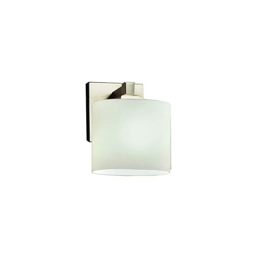 Fusion Brushed Nickel 6-Inch One-Light Wall Sconce