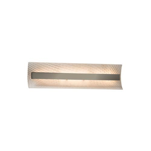 unique bathroom lighting fixture. Fusion Brushed Nickel 21-Inch LED Bath Bar Unique Bathroom Lighting Fixture