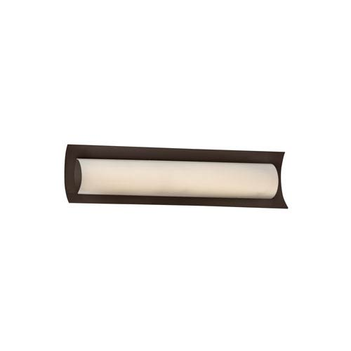 Fusion Dark Bronze 21.5-Inch LED Bath Bar