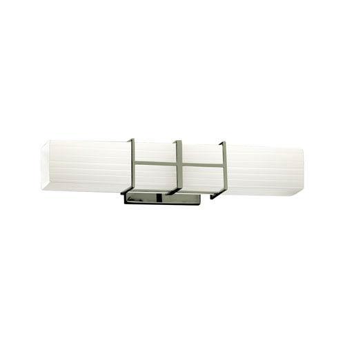 Fusion Brushed Nickel 21.5-Inch LED Bath Bar