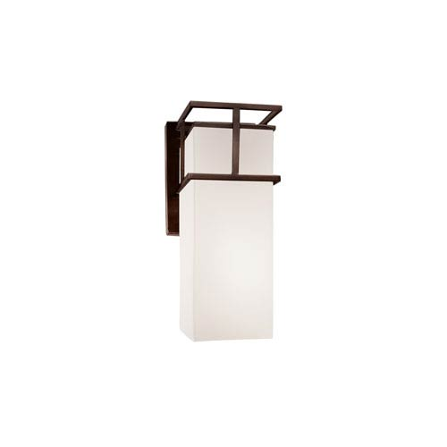 Fusion Dark Bronze 4.5-Inch Outdoor LED Wall Sconce
