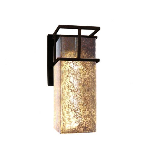 Fusion Dark Bronze 6.5-Inch Outdoor LED Wall Sconce