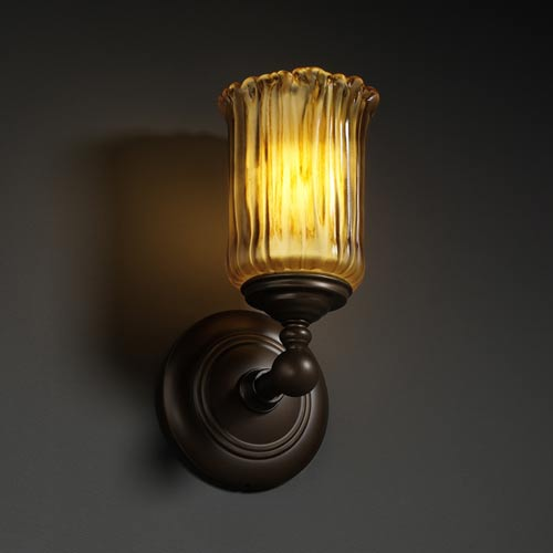 Justice Design Group Veneto Luce Tradition One-Light Sconce
